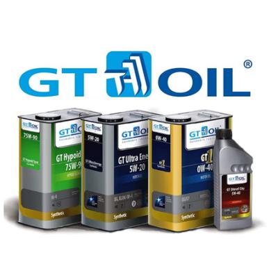 GT OIL АВТОМОБИЛЬНЫЕ МАСЛА